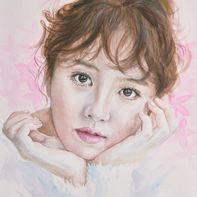"Kim, So-hyun (Watercolor 12""x16"", Jan 2017)"